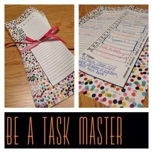Be A Task Manager!