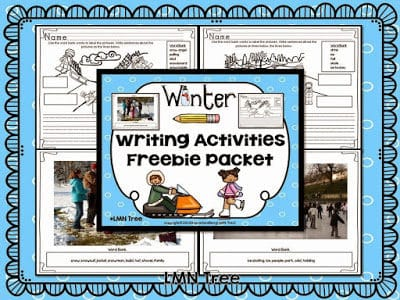 Winter Writing Activities Packet