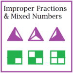 Fraction Quizzes: Improper Fractions and Mixed Numbers
