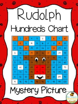 Free Rudolph Math Mystery Picture