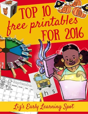 Top 10 Free Early Childhood Printables for 2016