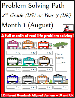 Free Problem Solving Path Journal from 2nd Grade