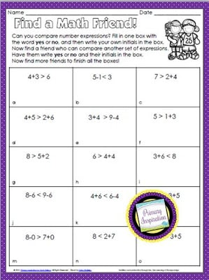 Keep Your Kiddos Moving with Find a Friend Math!