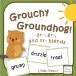 Grouchy Groundhog Consonant Blends
