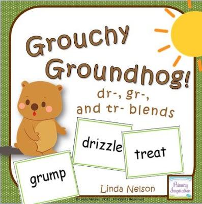 Grouchy Groundhog Consonant Blends