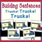 Let's Build Sentences About Trucks!
