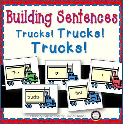 Let's Build Sentences About Trucks!