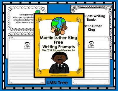 Martin Luther King Writing Prompts