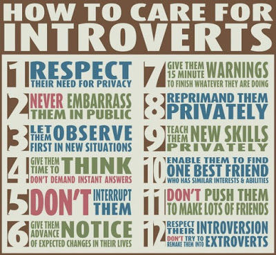 Introverts Can Bring Great Value in the Class — TRY THIS!!