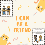 Susan Berkowitz's Free I Can Be a Friend Posters
