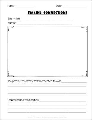 https://www.teacherspayteachers.com/Product/Making-Connections-to-Stories-92935