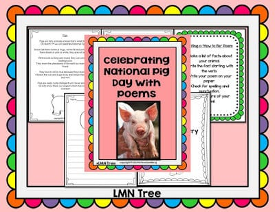 Roar into March with a Poetry Packet!