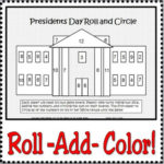 White House Roll and Add for Presidents Day