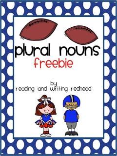 Irregular Plural Nouns Freebie