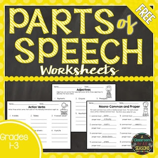 Parts of Speech Challenges