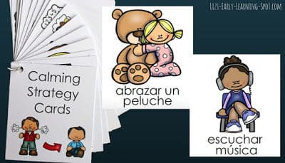 Calming Strategy Cards – now in Spanish, Estonian and Icelandic