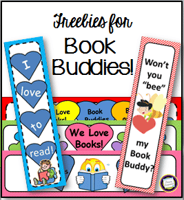 Book Buddy Gifts for Valentines Day