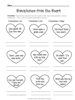 Homophones from the Heart