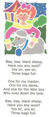 Sheep-Themed Nursery Rhymes
