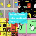 Susan Berkowitz's Free Communication Board for Students with Cortical Vision Impairment