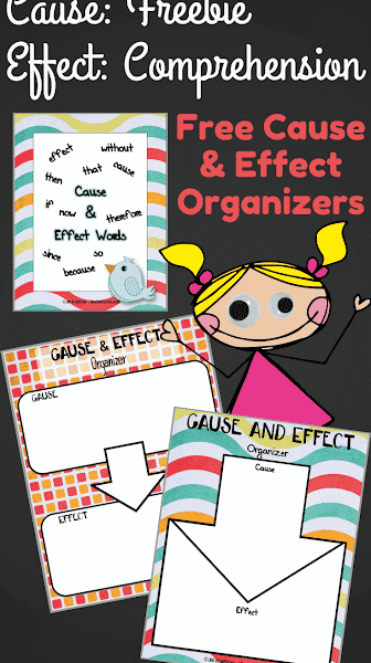 Cause & Effect FREEBIES to Improve Reading Comprehension