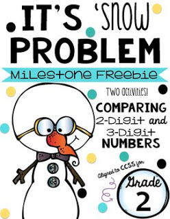 Snowman Comparing Numbers