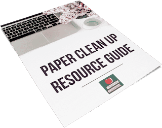 "Paper ""pilers"" often have pretty good internal reasons for keeping the piles. Find out why and grab the FREE Paper Clean Up Resource Guide to get organized."