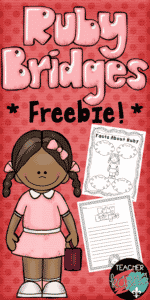 Ruby Bridges FREE Printables for Black History Month
