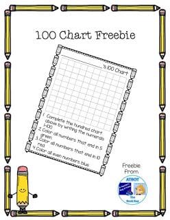 100 Chart Freebie