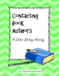 Letter Writing to Published Authors (and tips for getting a response!)