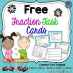 Fraction Hands-On Task Cards