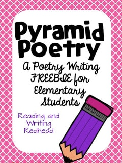 Poetry Month Freebie