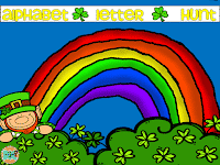 A St. Patrick's Day Alphabet Hunt