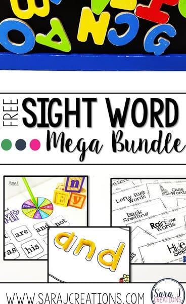 Sight Word Practice Mega Bundle