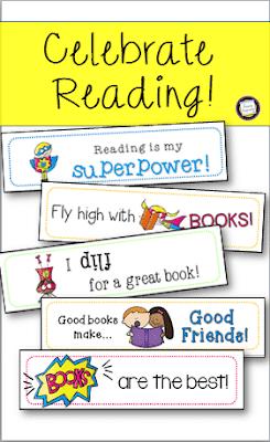 Superhero Freebie for Your Reading Celebrations!