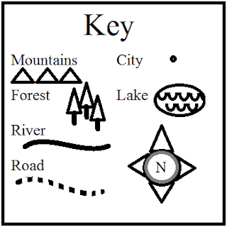 Create a Map to Elaborate a Story