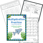 Free Multiplication Activity