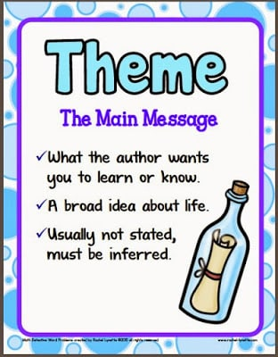 Teaching Theme – It doesn't have to be so hard!