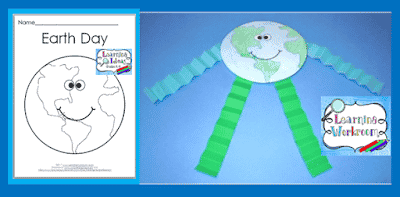 http://learningideasgradesk-8.blogspot.com/2017/04/earth-day-craft-and-activities-for-kids.html