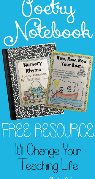Poetry Notebook: FREE Resources for Reading