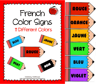 Free French Color Posters