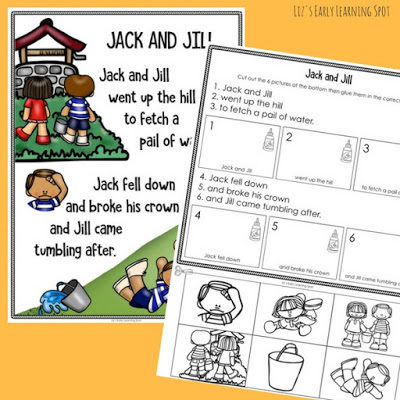 Jack and Jill Sequencing Activity