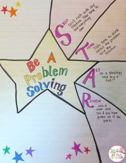 Math Problem Solving Bookmarks