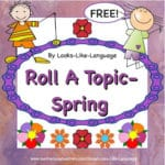 Spring Freebie from Looks Like Language