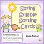 Sorting Syllables for Spring