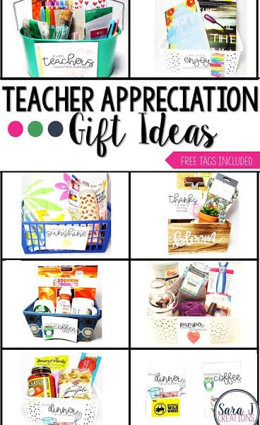 Teacher Appreciation Gift Ideas + Cards