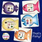 What Does Not Belong? A Fishing Game for Associations