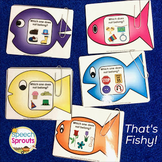 What Does Not Belong? A Fishing Game for Associations. That's Fishy! by Speech Sprouts
