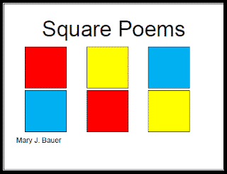 Poetry Month: Write a Square Poem