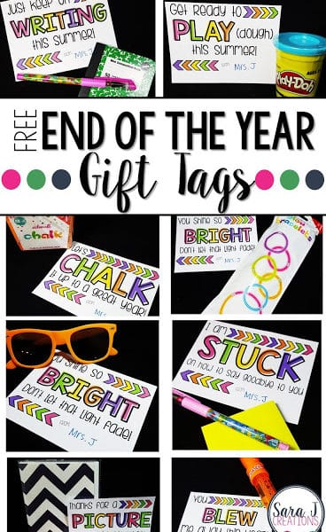 End of the Year Student Gifts